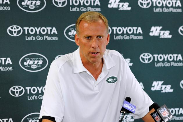 With 12 Picks, Jets' GM Gets His Big Shot to Build Roster