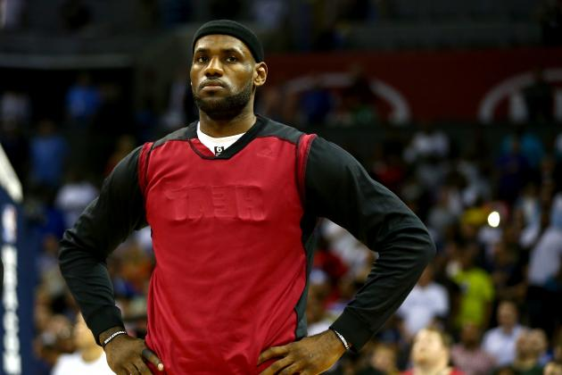LeBron 'Close to 100 Percent' with Hurt Thigh