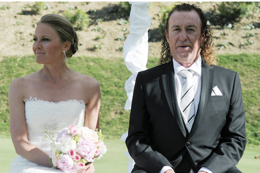 Miguel Angel Jimenez Got Married, Likely Smoked All the Cigars
