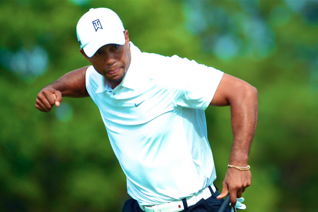 Tiger Woods Dishes on Back Surgery Progress and Dominating Son at Putting