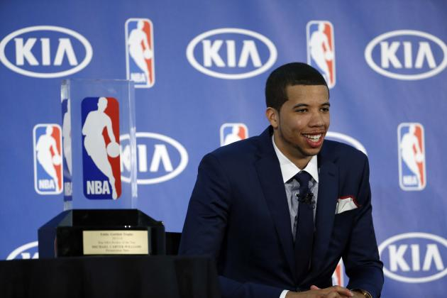 Michael Carter-Williams: ROY Award Is Great, but Would Trade for Playoff Spot