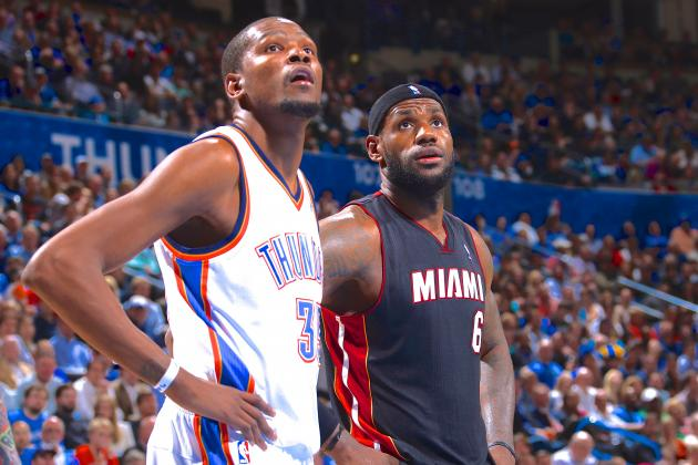 2nd Place No More: LeBron James Congratulates Kevin Durant on His Reported MVP