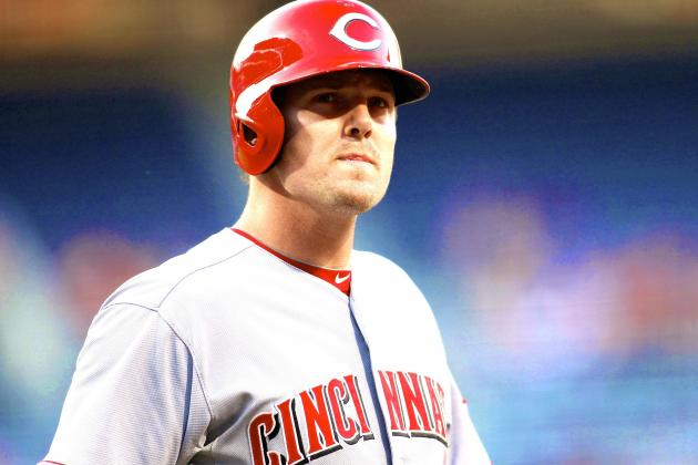 Jay Bruce Knee Surgery Will Cost Reds Outfielder 1 Month or More