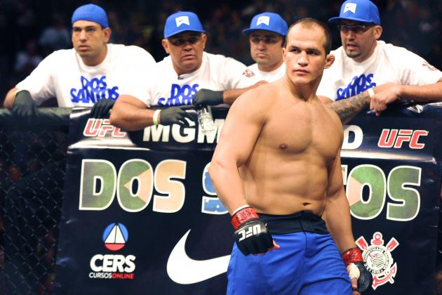 Junior Dos Santos Breaks Hand, out of TUF Finale May 31