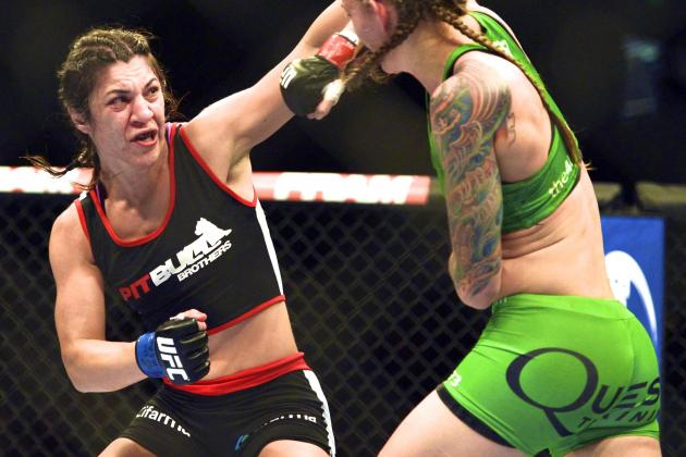Correia Gets Shot at 2nd 'Horsewoman' Baszler at UFC 176