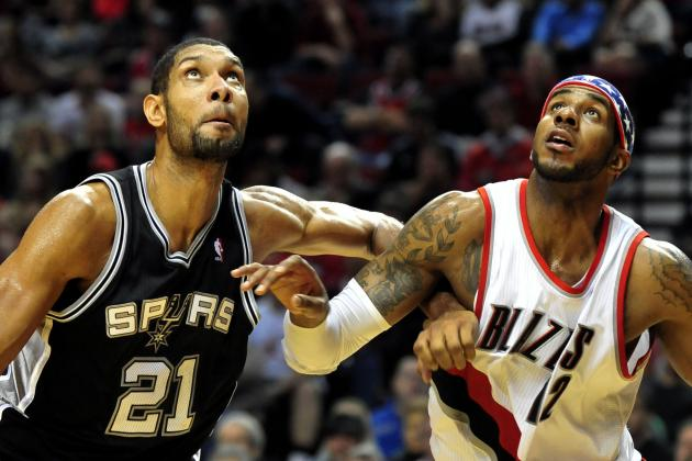 Tim Duncan Has Same Number of Playoff Appearances as Trail Blazers Franchise