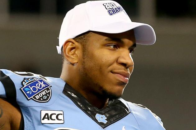 Jersey-Born TE Eric Ebron Could Be Great Fit for Giants
