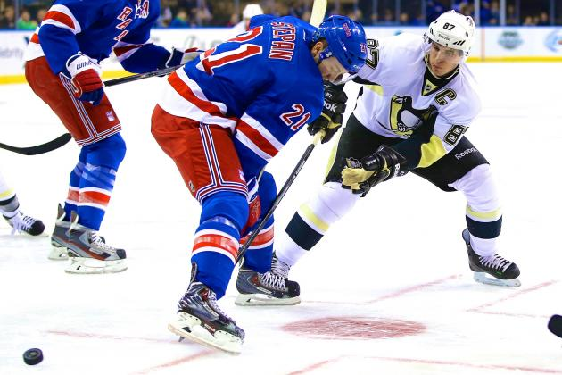 Pittsburgh Penguins vs. New York Rangers Game 3: Live Score and Highlights