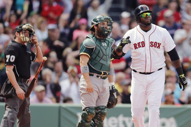 Boston's David Ortiz Looking to Move Up Franchise Home Runs Leaderboard