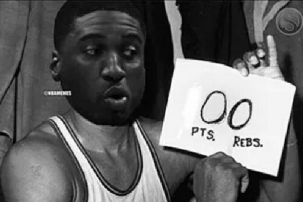 Gilbert Arenas Trolls Roy Hibbert After Awful Performance Against the Wizards