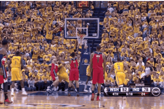 Wizards' Bradley Beal Laughs Off Air-Balled Free Throw vs. Pacers