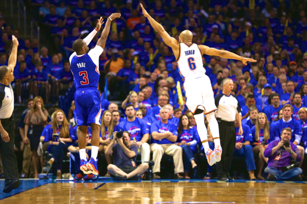 Clippers vs. Thunder: Game 1 Score and Twitter Reaction from 2014 NBA Playoffs