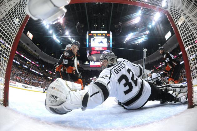 Los Angeles Kings vs. Anaheim Ducks Game 2: Live Score and Highlights