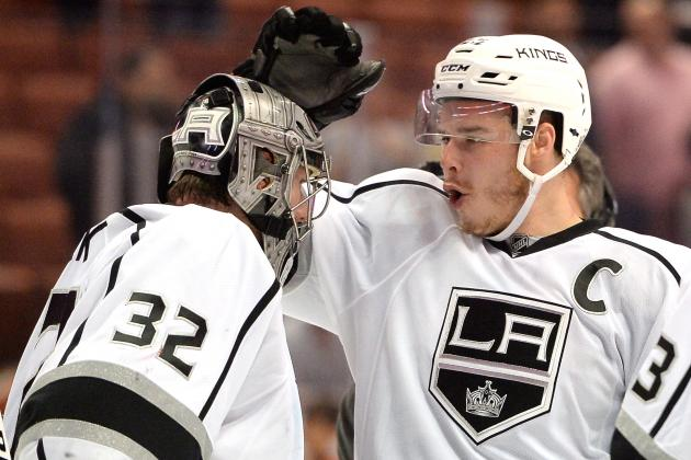 Kings 'Have the Best Goalie in the World,' Says Brown