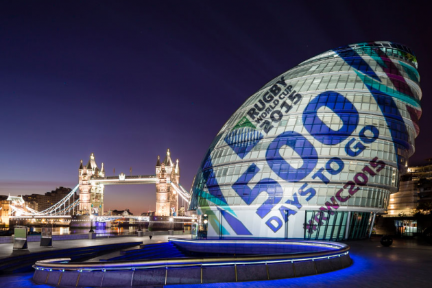 500 Days to Start of Rugby World Cup