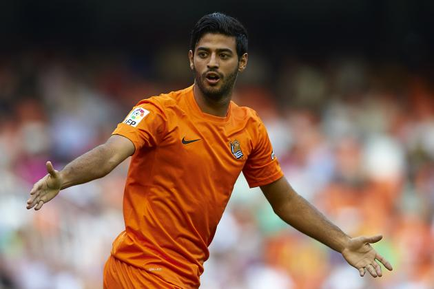 Potential Carlos Vela Return Has Striking Transfer Value for Arsenal