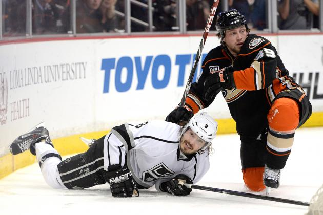 Los Angeles Kings Defenseman Drew Doughty Roughed Up, but Excels Anyway