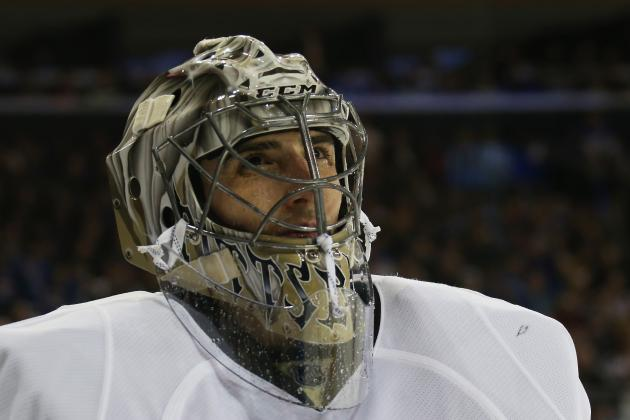 Pens' Fleury flawless in goal again