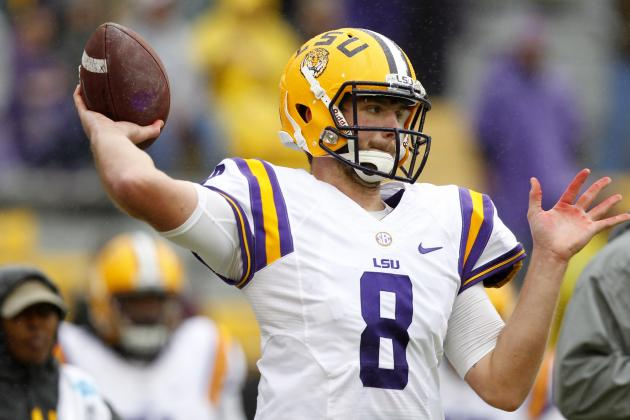 Zach Mettenberger's Best and Worst-Case Scenarios in 2014 NFL Draft