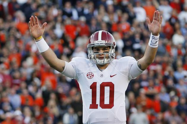 AJ McCarron's Best- and Worst-Case Scenarios in 2014 NFL Draft