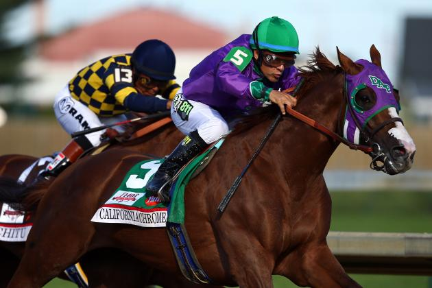2014 Kentucky Derby: Horses That Emerged as Favorites for Preakness Stakes