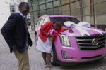 Bridgewater Fulfills Promise to Mom with Pink Cadillac