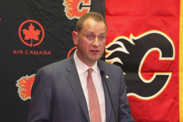 Brad Treliving Eager to Get Started as Calgary Flames General Manager