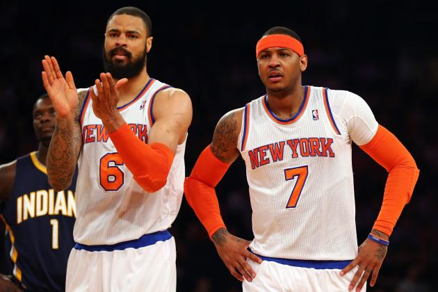 Rumor: Mavs to Pursue Melo, Tyson Chandler