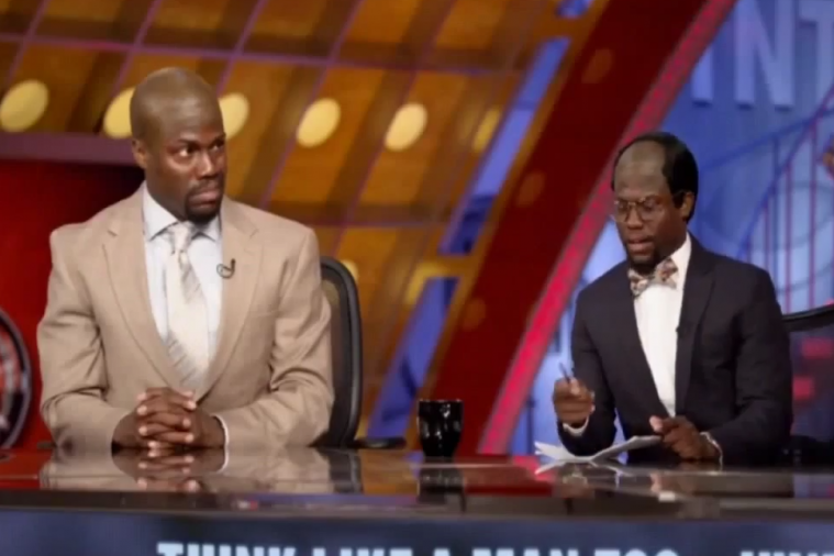 Kevin Hart Impersonates Inside the NBA Crew, Gets Clowned on by Kenny Smith