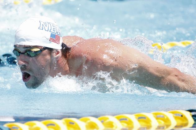 Michael Phelps Enters 100M Butterfly and 200M Freestyle at Charlotte Grand Prix
