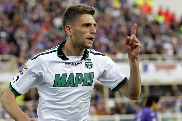 Domenico Berardi Scores Rapid Hat-Trick for Sassuolo vs. Fiorentina