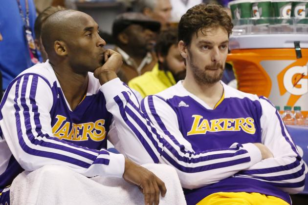 Kobe Bryant Tells Pau Gasol He Wants Him to Return to Los Angeles Lakers