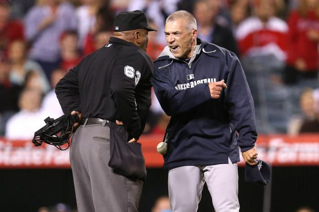 MLB Ejections Alive and Well, Thanks to Joe Girardi and Umpire Laz Diaz