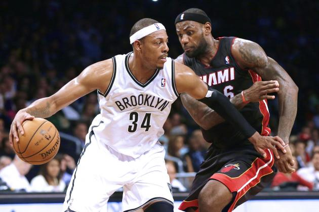 Paul Pierce Says Rivalry with LeBron James Not Personal Beef