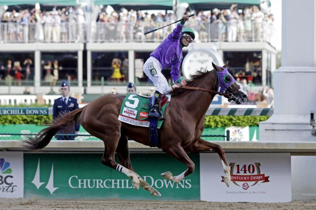 Kentucky Derby 2014: How Results from Churchill Downs Affect Preakness Stakes