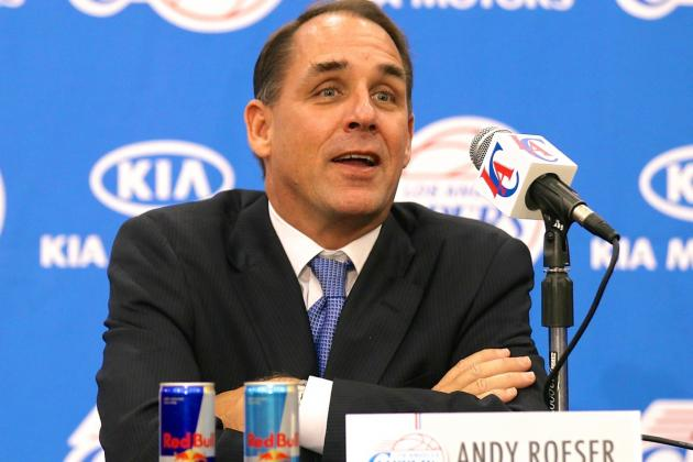 Clippers President Andy Roeser Taking Indefinite Leave of Absence