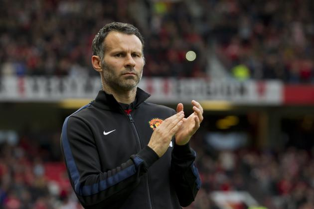 Ryan Giggs Becomes Man United's First Player-Manager Since 1927 vs. Hull City