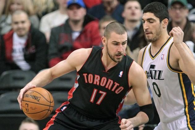 Jonas Valanciunas to Work with Hakeem Olajuwon During 2014 Offseason
