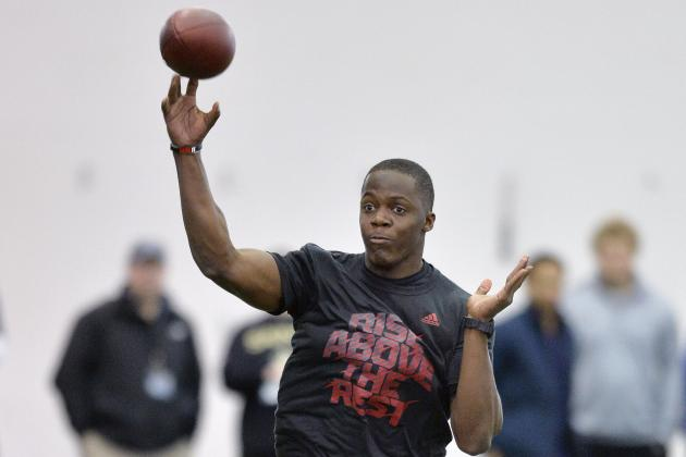Teddy Bridgewater's Latest Draft-Day Projections from Top NFL Experts