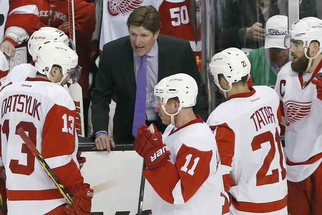 Detroit Red Wings' Mike Babcock Clear Winner Among Jack Adams Finalists