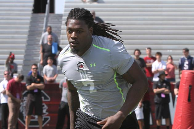 Jadeveon Clowney's Latest Draft-Day Projections from Top NFL Experts