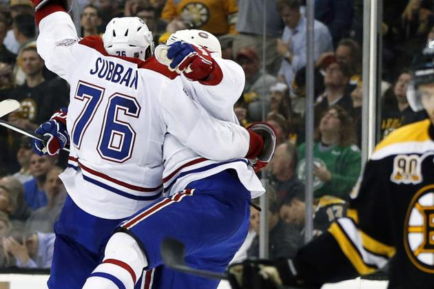 VIDEO: P.K. Subban Breaks out of Box, Scores Breakaway on Bruins