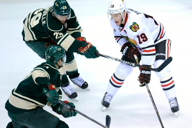 Chicago Blackhawks vs. Minnesota Wild Game 3: Live Score and Highlights