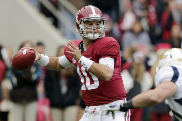 AJ McCarron's Full Scouting Report and Outlook Heading into 2014 NFL Draft