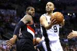Parker Drops 33 as Spurs Rout Blazers in Game 1