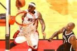 LeBron, Heat Show Poise in Game 1 Win