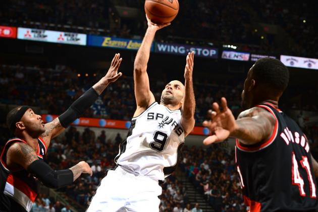 Spurs Game 1 Dismantling of Blazers Sends Clear Reminder of Yearlong Dominance