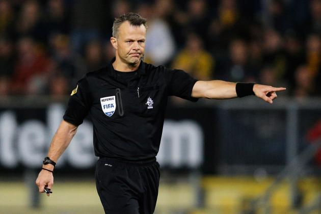 Bjorn Kuipers Chosen to Referee Real Madrid vs. Atletico Champions League Final