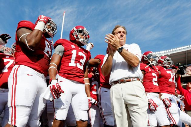 Don't Blame Alabama If Its 2014 Football Schedule Is Soft