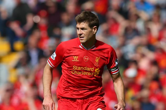 Steven Gerrard Jokes About His Costly Slip, Talks Luis Suarez and Liverpool